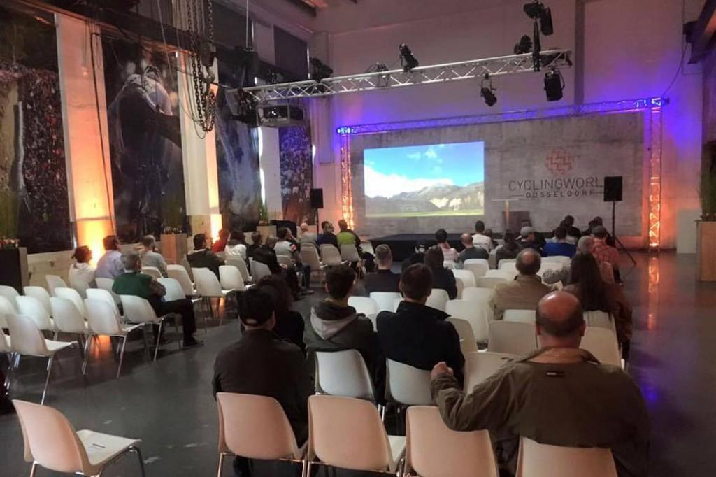 Auditorium World Bicycle Relief